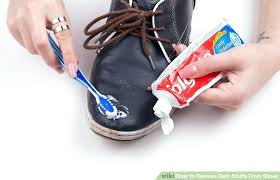 how to fix scuffed leather shoes image titled remove dark scuffs from shoes step 2 fix how to fix scuffed leather shoes