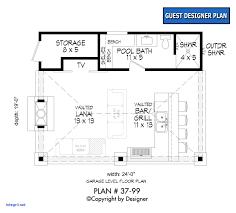 small pool house floor plans. 26 X 36 House Plans Luxury Small Pool Floor E