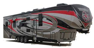 winnebago industries newest addition to their fifth wheel toy hauler offering is the 4014 scorpion and it just might be their best one yet