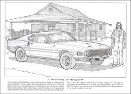 Small Picture American Muscle Cars Coloring Book 013455 Details Rainbow