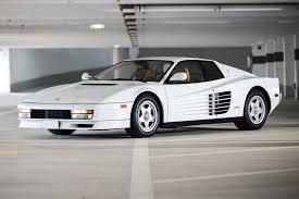 Add a photo to this gallery there was a slight change to the ferrari testarossa casting rear bumper is part of casting, not the interior. 1987 Ferrari Testarossa Monodado Uncrate