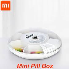 <b>Xiaomi</b> ZAYATA Smart Mini Pill Box <b>Portable Travel</b> Pill Case ...