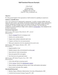 ... staff assistant resume resume cv cover letter ...