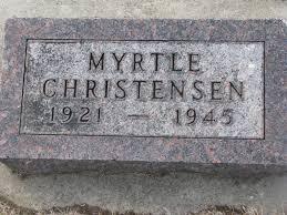 Myrtle Isabelle Christensen (1921-1945) - Find A Grave Memorial