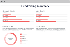 fundraising report template index of cdn 10 2010 723