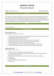 Nursing Charting For Dummies Private Duty Nurse Resume Samples Qwikresume