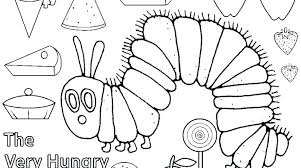 Caterpillar Coloring Pages Preschool Caterpillar Coloring Pages Free