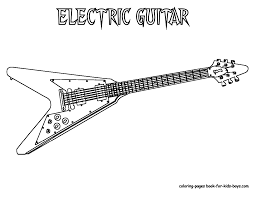 Small Picture Rock N Roll Coloring Pages esonme