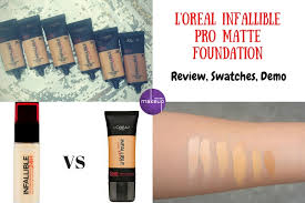 l oreal pro matte foundation review swatches demo not only makeup