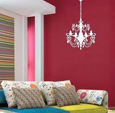 wall decals chandelier chandelier wall decal with extra chain chandelier vinyl wall decal wall decals