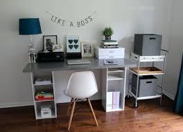 makeshift office. Awesome Office Hack Room Makeshift Desk E