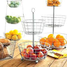 kitchen fruit basket kitchen hanging fruit basket kitchen counter fruit basket