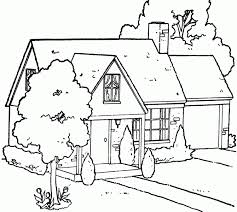 House Coloring Pages To Print House Coloring Pages Printable House
