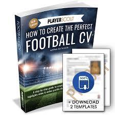 cv video template football cv how to write a football cv 2018 template download