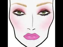 Mac Makeup Face Charts Halloween At Ahalloweencraft