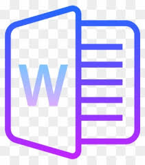 microsoft word icon microsoft word icon microsoft word icons cool free transparent
