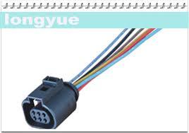 aliexpress com buy longyue 2pcs ntk sensor connector wiring longyue 2pcs ntk sensor connector wiring harness 1j0973713 vw style o2 sensor 6 way adapter pigtail