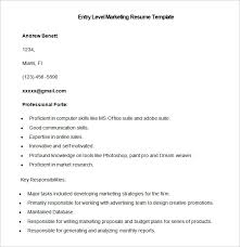 Marketing Resume Template Magnificent Marketing Resume Template 48 Free Samples Examples Format