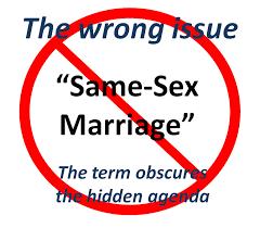No to gay marraige