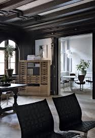 Woonkamers Kastanjebruine Combinatie In Interieur Mooie Van Hout