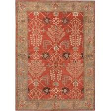 hand tufted transitional red wool area rug 5 x 8 ping great deals on rugs orange