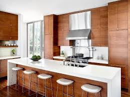 modern wood kitchen decor popular cabinetry walnut cabinets wooden furniture marvelous pictures