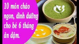 10 món cháo ngon, dinh dưỡng cho bé 6 tháng ăn dặm. Bé tập ăn dặm. | Hướng  dẫn nấu ăn ngon tại nhà - Trang thông tin ẩm thực #1 Việt Nam