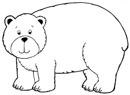 Small Picture Bear Coloring Page GetColoringPagescom