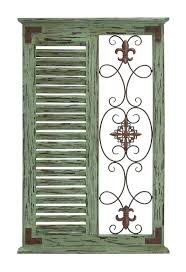 fleur de lis metal panel wall art