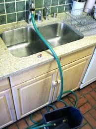 kitchen faucet to garden hose adapter home depot elegant connect garden hose to kitchen sink sink