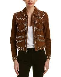 a l c blaine suede jacket