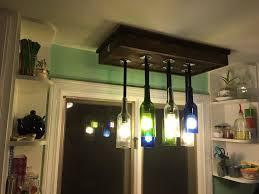 picture of intro wine bottle chandelier light fixture