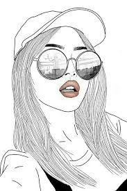 Drawn Little Girl Hipster Free Clipart On Dumielauxepicesnet