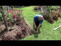 how to install log roll edging 2019