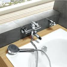 bathtub wall faucet freestanding best without hand held shower mounted p