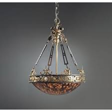 maitland smith finely cast brass iron and pens empire chandelier