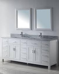 art kelia 75 inches double sink bathroom vanity
