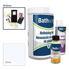 diy bathtub and tile refinishing kit white