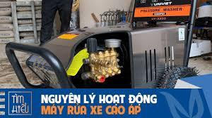 Pin on Nguyên lý hoạt động của máy rửa xe cao áp
