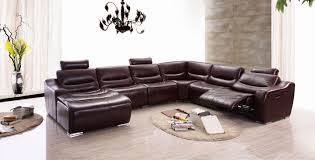 Black Leather Sectional Sofa With Recliner Furniture Black Leather Recliner Oversized Recliner Lane