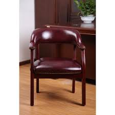 Burgundy Accent Chair Boss Traditional Burgundy Captains Chair B9540 By The Home Depot