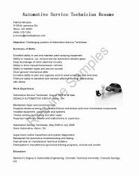 Automotive Technician Resume Surgical Instrument Repair Sample Resume Simple Automotive 15