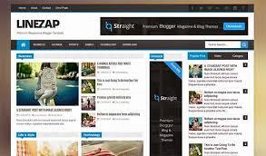 responsive blogger templates linezap responsive blogger template themexpose