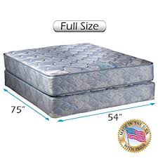 full size mattress set. Chiro Premier Orthopedic (Blue Color) Full Size Mattress And Box Spring Set - Fully E