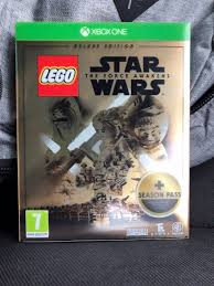 lego star wars the force awakens gold steelbook xbox one
