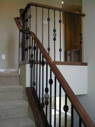marvelous wooden stair railing ideas outdoor home design iron railings gallery handrail interior contemporary designs exterior