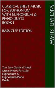 Classical Sheet Music For Euphonium With Euphonium Piano