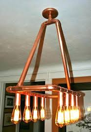 diy pipe lighting pipe chandelier copper pipe light pipe lighting diy pipe ceiling lighting