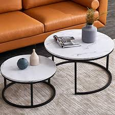 nlager round nesting coffee tables