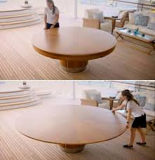 58 best sam s dream s expanding tables images on spinning expanding round table